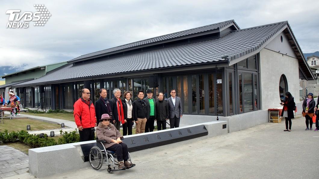 圖/中央社 遠東舊屋改造獎 池上穀倉變身藝術館獲首獎
