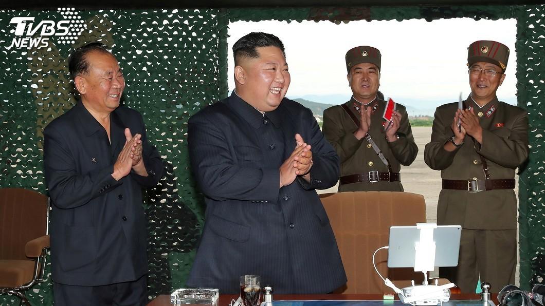 圖/達志影像路透社 北韓今晨又射彈 南韓軍方疑為新型短程飛彈