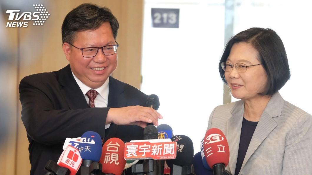 圖/中央社 天下施政民調 蔡總統:現任市長應以市政優先
