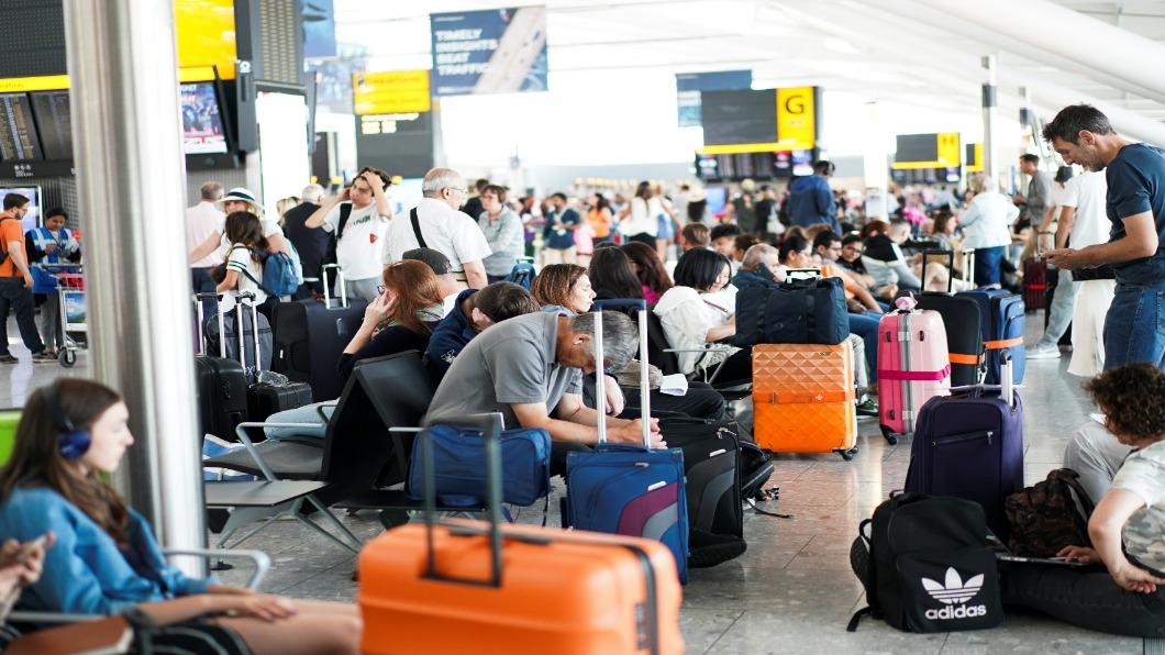圖/達志影像路透 沒機師上工 英航飛不動.影響28萬乘客