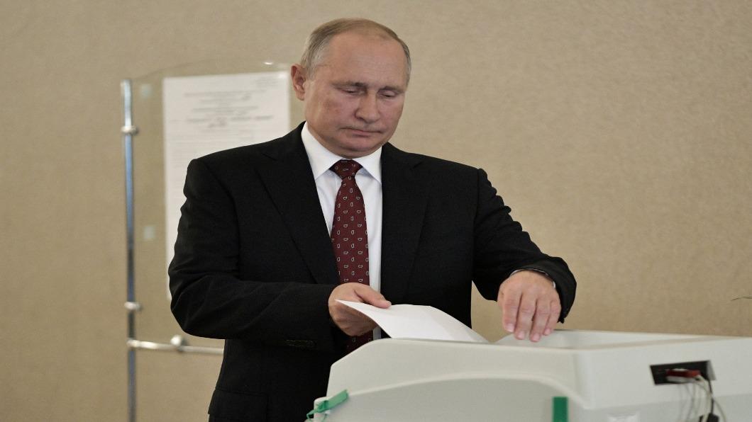 圖/達志影像路透 俄首都議會「智慧投票」 親普欽勢力丟1/3席