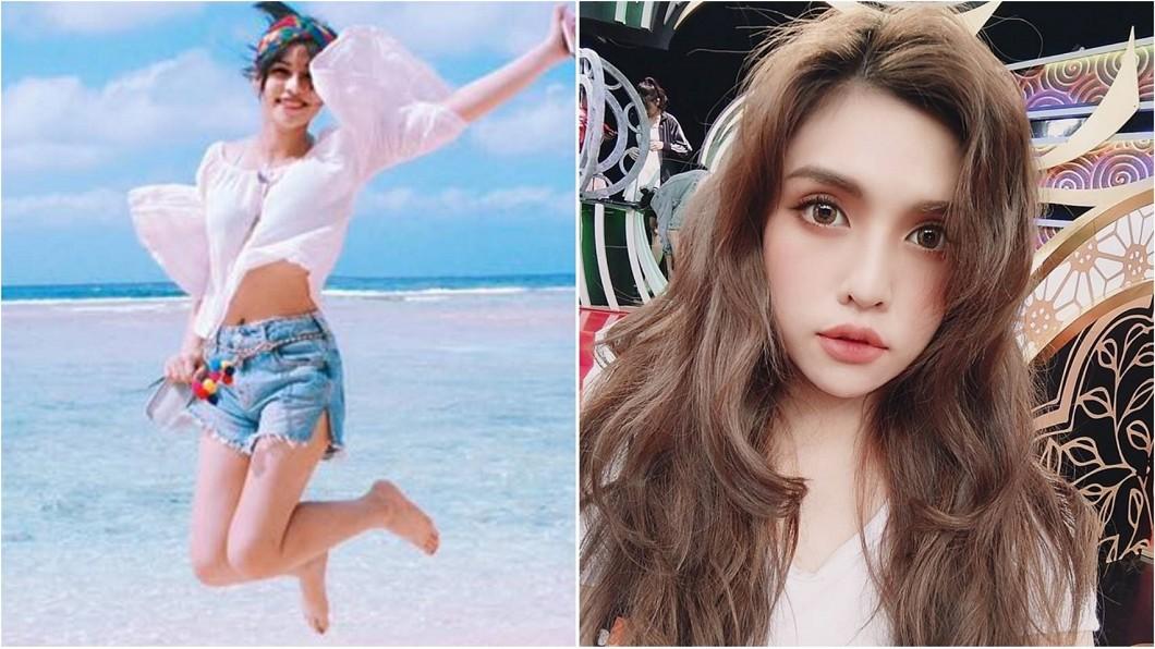 合成圖/翻攝夏宇童臉書 女星被爆黑歷史 胖到變成「彌勒佛」害慘同學!