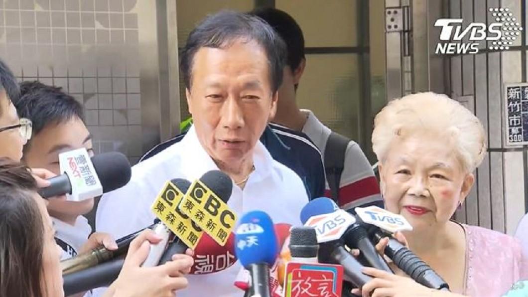 圖/TVBS 選總統只是假動作?郭台銘遭爆凌遲藍營目的曝光