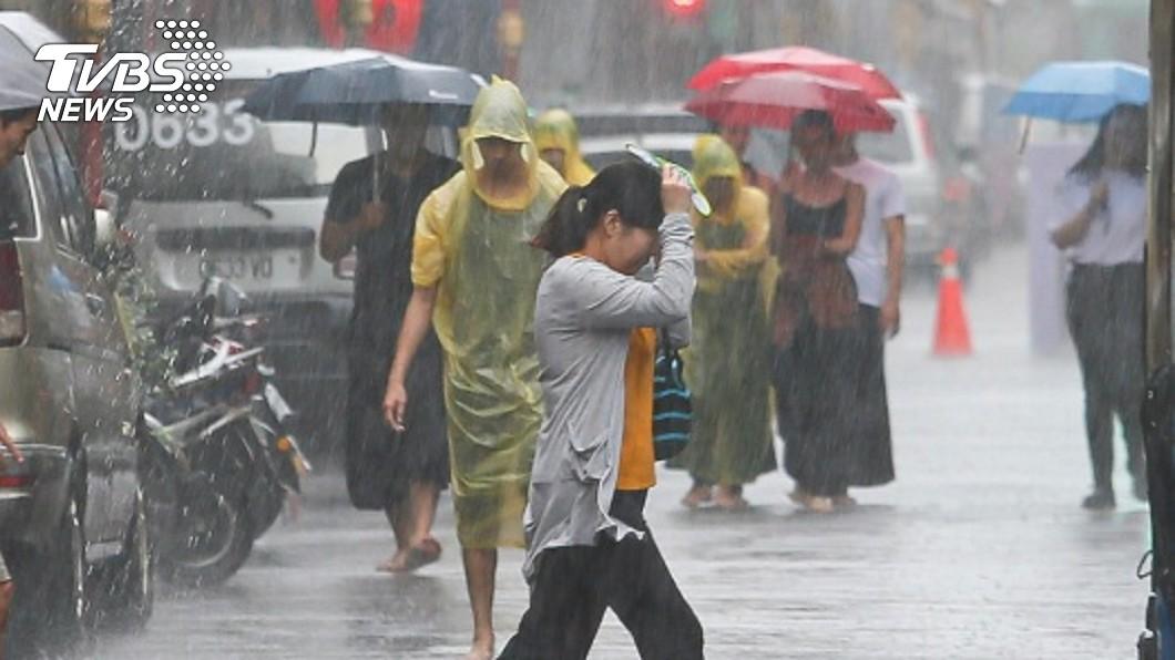 。圖/TVBS 中秋大變天? 熱低壓最快今形成16號颱風「琵琶」