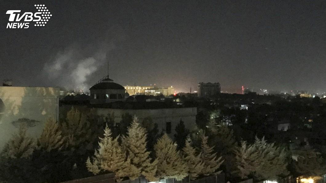 圖/達志影像美聯社 911恐攻週年 美駐阿富汗大使館遭火箭襲擊