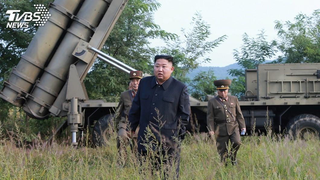 圖/達志影像路透社 金正恩指導超大型火箭試射 官媒暗示測試還沒完