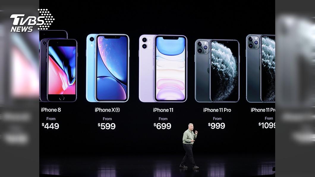 圖/達志影像美聯社 新iPhone來了! 三鏡頭Pro系列推「夜幕綠」