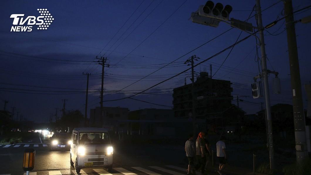 圖/達志影像美聯社 「法西」後遺症 千葉、神奈川45萬戶沒電用