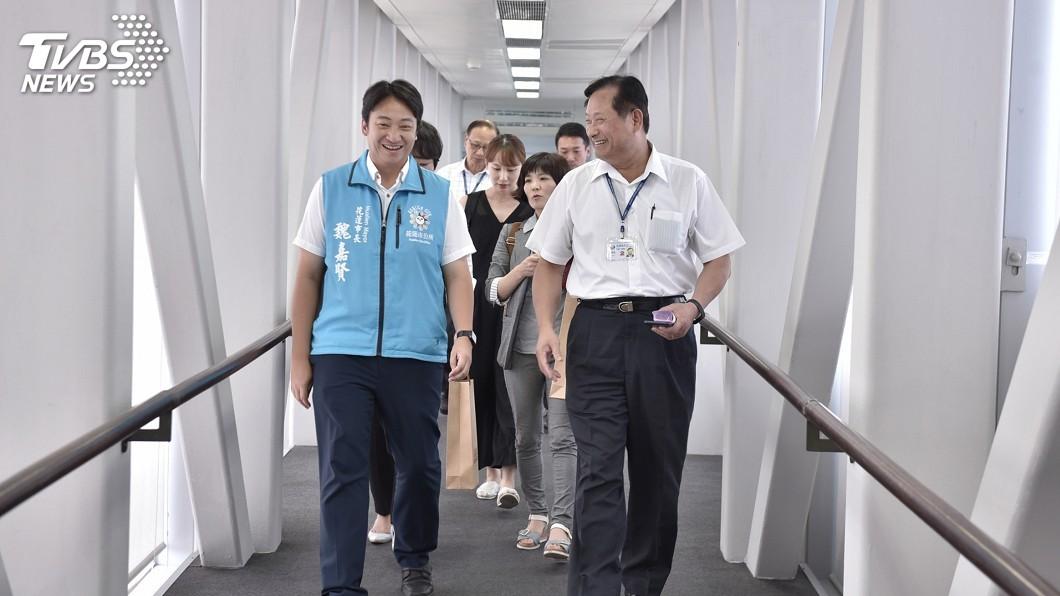 圖/中央社 花蓮-韓國直航新添包機 10月中將往返2航次
