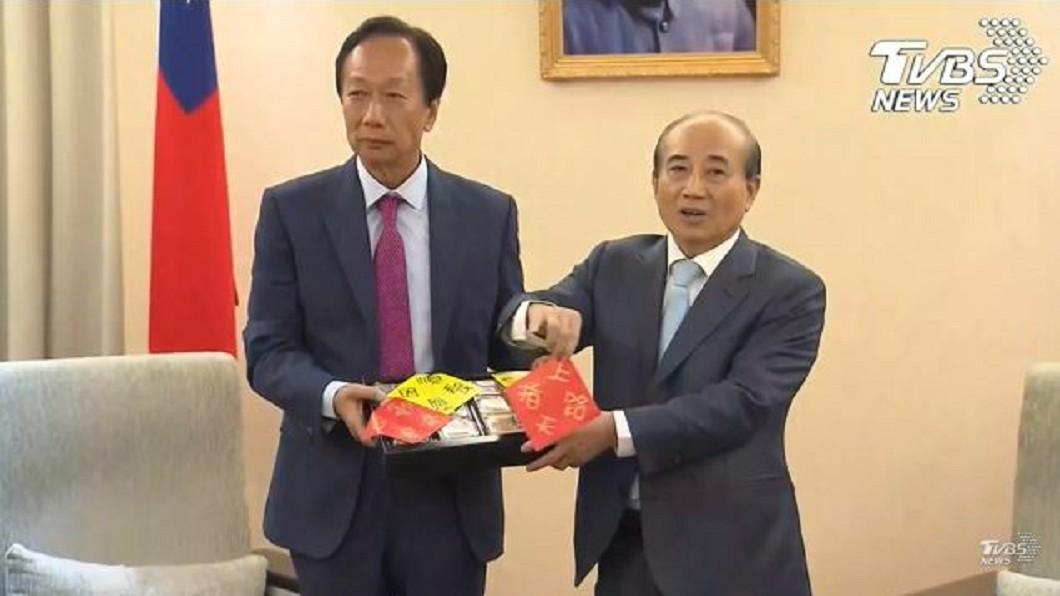 圖/TVBS資料照 王金平披橘袍選總統? 「關公好兄弟」郭台銘說話了