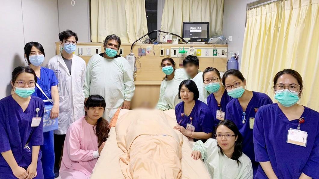 圖/新竹馬偕醫院提供 18歲印度男子意外離世 捐獻眼角膜遺愛台灣