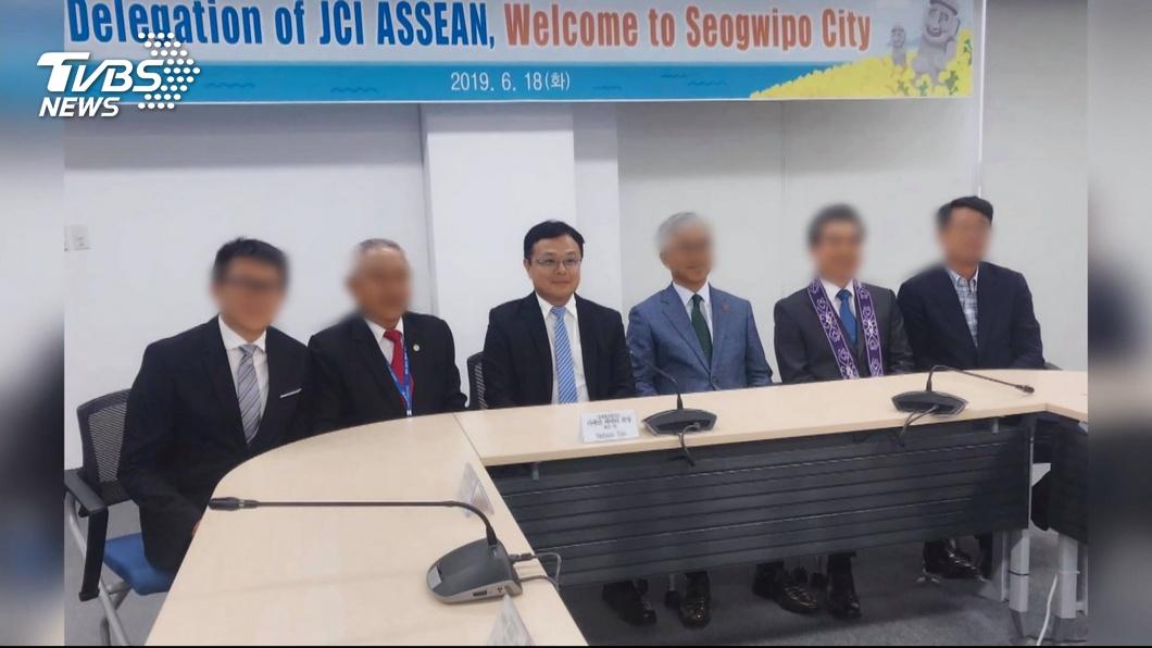 圖/TVBS 李孟居被逮 中共政法委:支持抓捕反中亂港人士