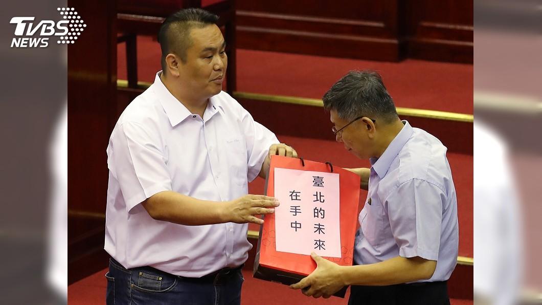 圖/中央社 柯文哲認來不及準備總統大選 挺郭且稱韓完了