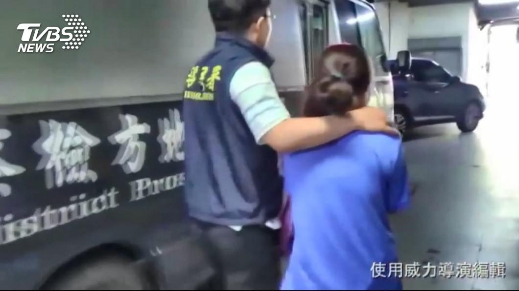 圖/TVBS 狠母欠百萬賭債 誘16歲女來台賣春奪坐檯費