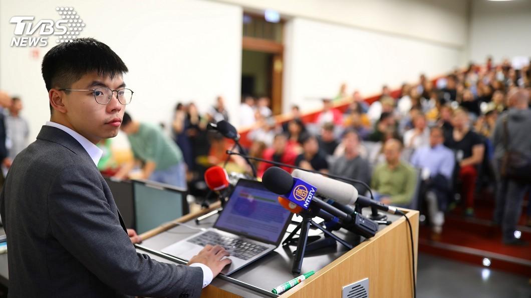 圖/達志影像路透社 只想落實香港普選 黃之鋒:我不是分裂分子