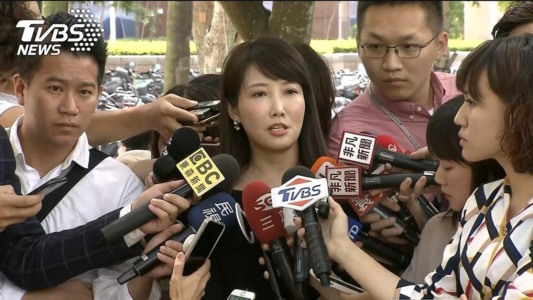 郭辦發言人蔡沁瑜。圖/TVBS