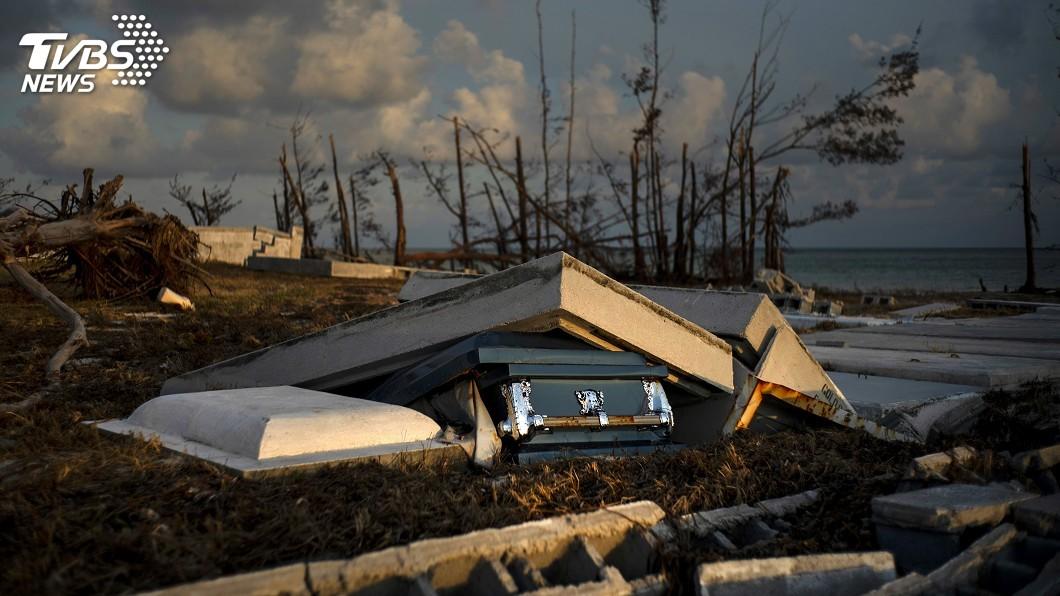 圖/達志影像美聯社 颶風多利安襲擊一週後 巴哈馬約2500人仍告失蹤