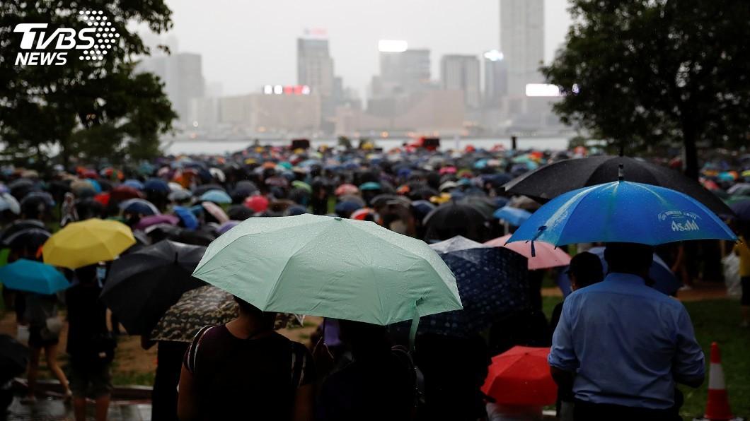 圖/達志影像路透社 香港反送中計畫9/15遊行 遭警方禁止