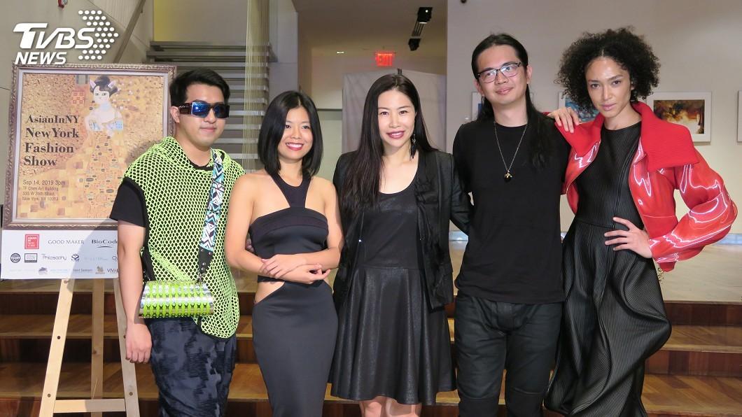 圖/中央社 紐約亞洲時裝秀 主打台灣設計與孩童走秀