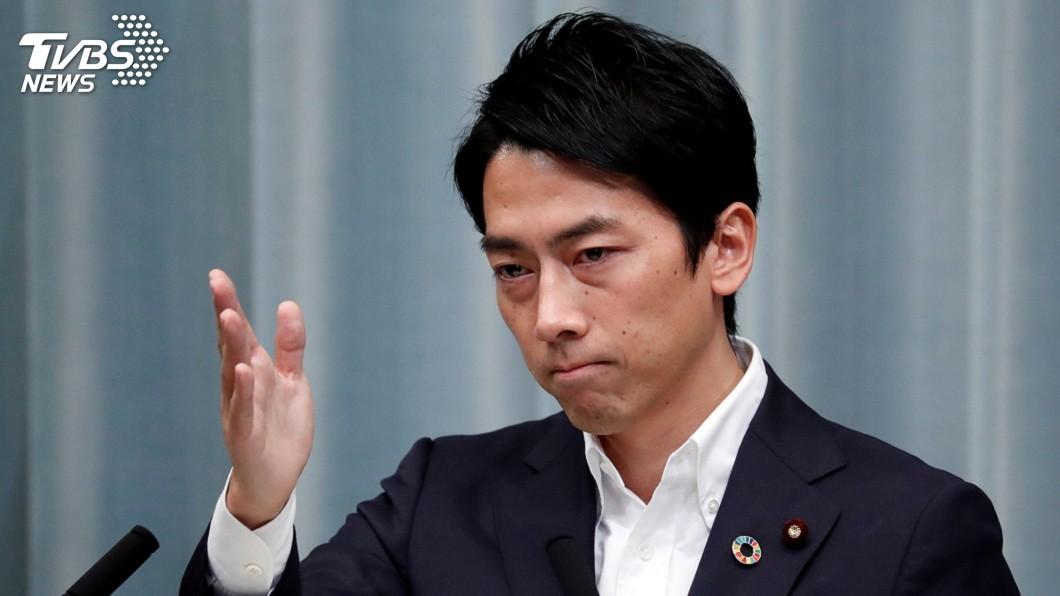 圖/達志影像路透社 日前環境大臣失言 小泉進次郎向福島漁民致歉