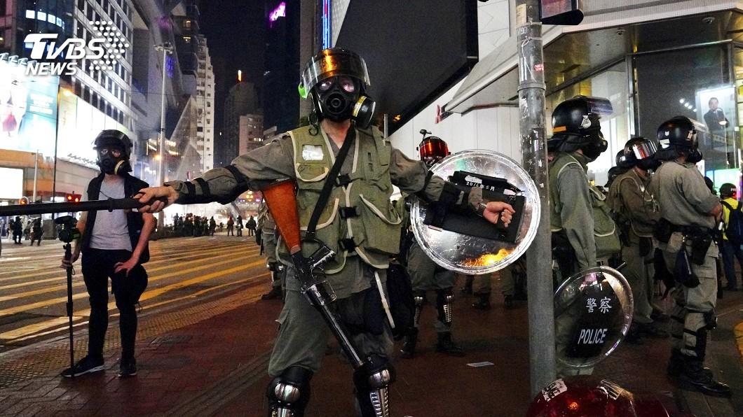 圖/達志影像美聯社 反送中風潮加豬瘟肆虐 香港中秋節慶氣氛淡