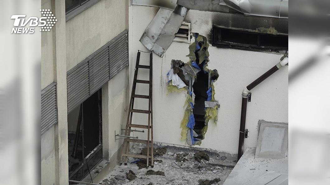 圖/達志影像美聯社 里約熱內盧醫院夜間大火 11死90病患轉院