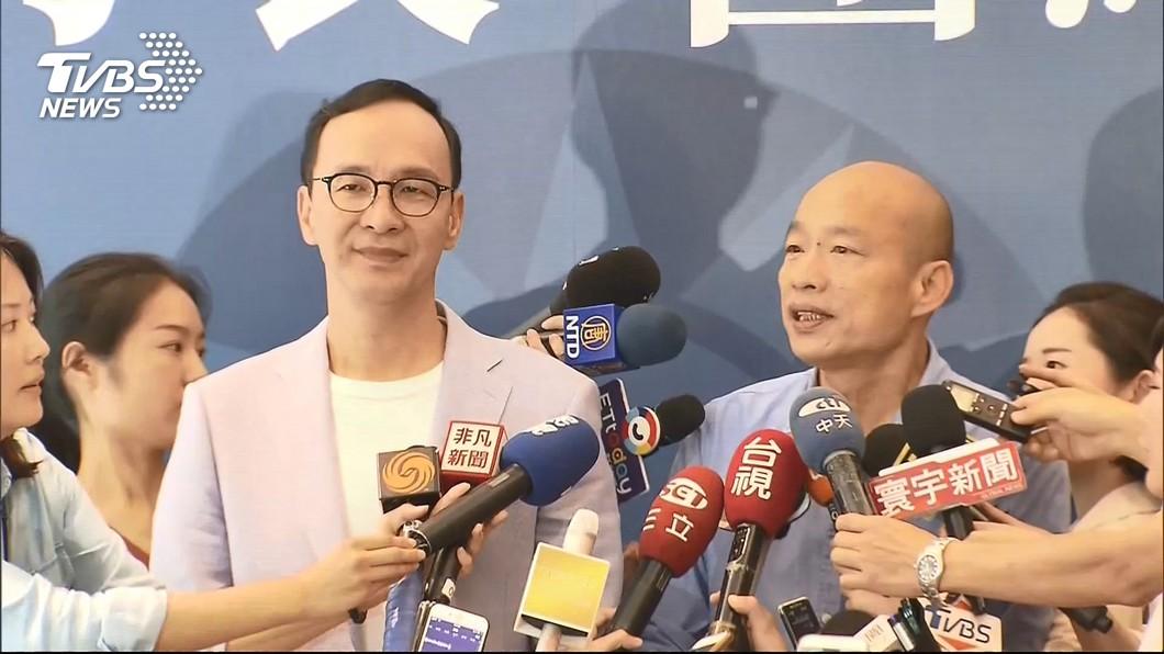 圖/TVBS資料畫面 不要位子促團結 朱立倫:不至於罵完馬又罵朱吧!