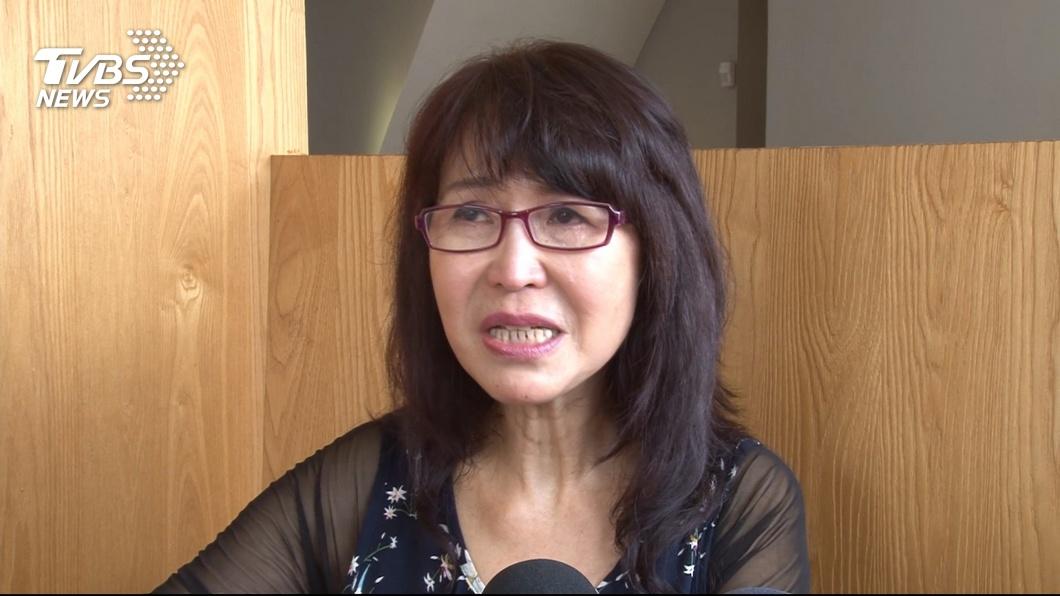 曾是資深民進黨員的潘金英,去年高雄市長選舉時改挺韓國瑜。(圖/TVBS) 我沒倒戈!北漂媽媽再澄清 言論卻讓韓粉又崩潰