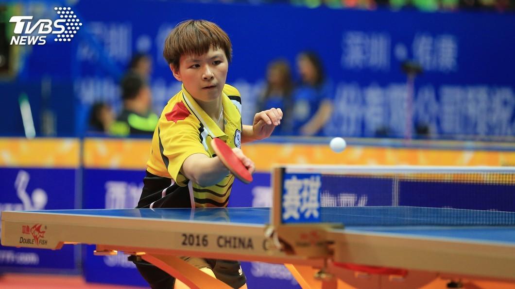 圖/中央社資料畫面 陳思羽包辦2勝 女團19年後再闖桌球亞錦賽4強