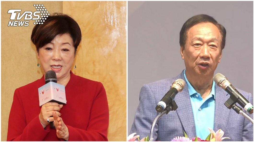 資料照/TVBS 郭台銘明宣佈是否參選 張忠謀夫人今親自造訪