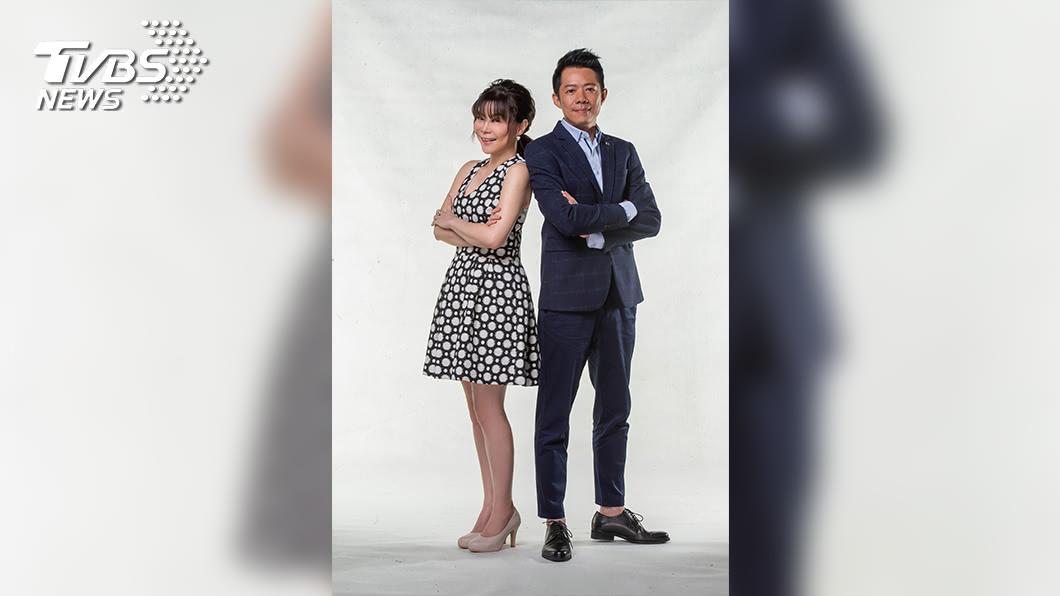 圖/TVBS 史密斯主持搭檔登板 林宏宜 錢怡君 轉攻政論戰線