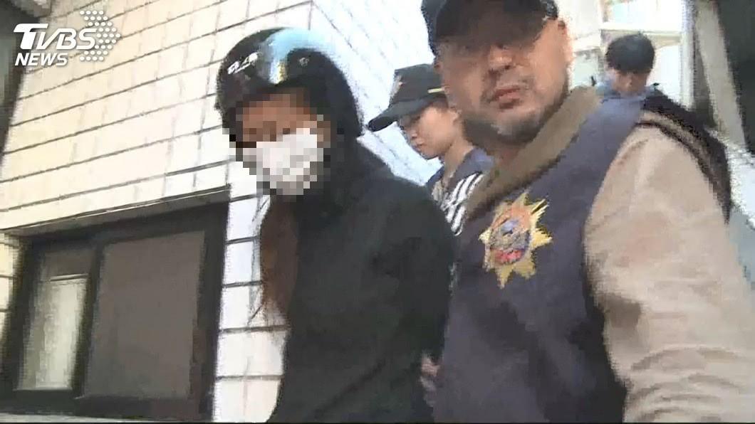去年10月宜蘭發生一起2月女嬰中毒亡,檢警逮到生母吳姓女子。(圖/TVBS) 2月女嬰中毒亡…被驗出安非他命 疑生母餵毒