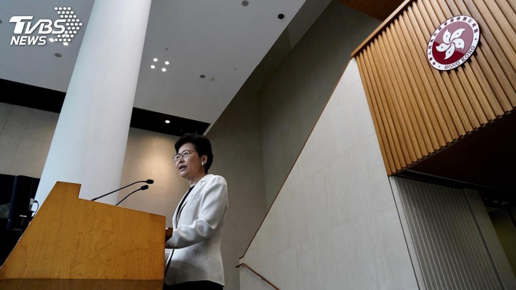 圖/達志影像美聯社 因應反送中不滿 林鄭月娥下週與市民對話