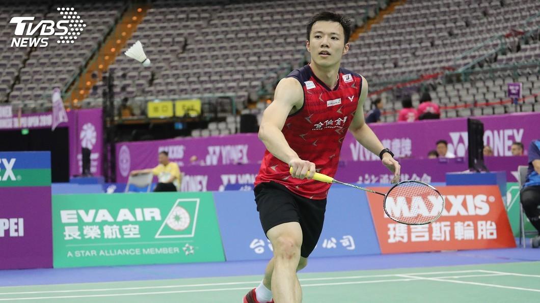 圖/中央社資料畫面 王子維直落二過關 挺進中國羽球公開賽次輪
