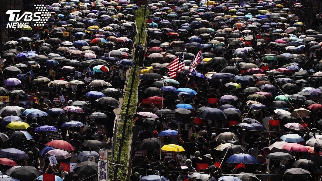 圖/達志影像美聯社 香港反送中示威者來台 政府協助部分個案就學