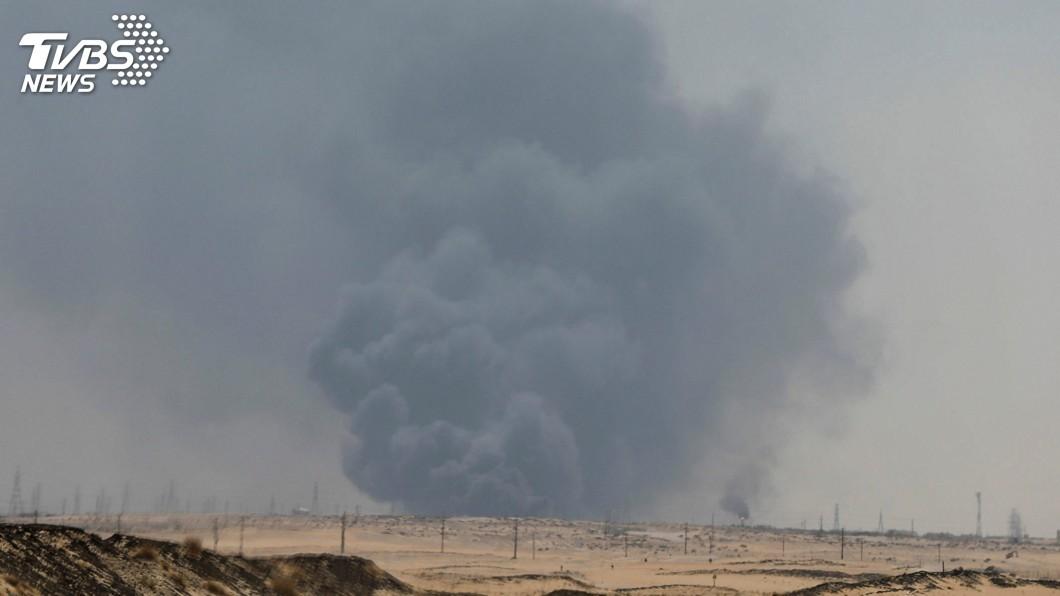 圖/達志影像路透社 沙國石油設施挨炸 伊朗具精準打擊能力恐已成真