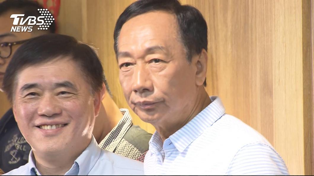 圖/TVBS資料畫面 認了適得其反!郝龍斌:「若沒此事」郭台銘還在國民黨