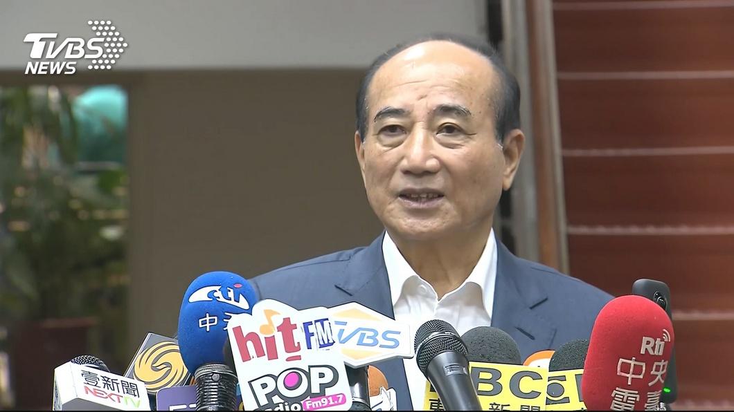 前立法院長王金平。圖/TVBS 點名王金平、黃健庭 藍議員怒嗆:不爽韓國瑜就滾啊!