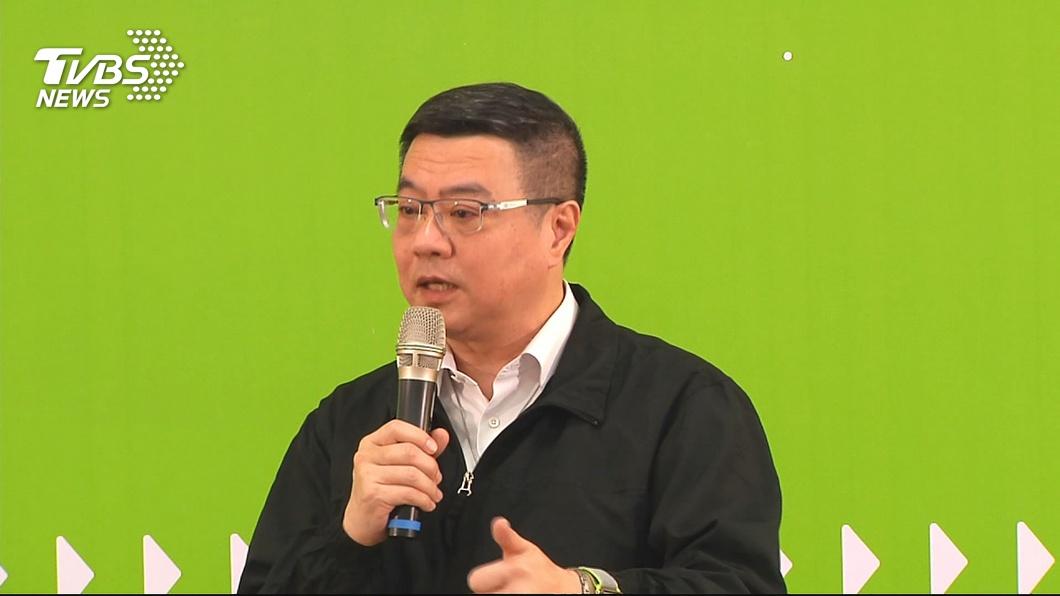 圖/TVBS 民進黨召開中執會 卓榮泰:剩兩週完成不分區