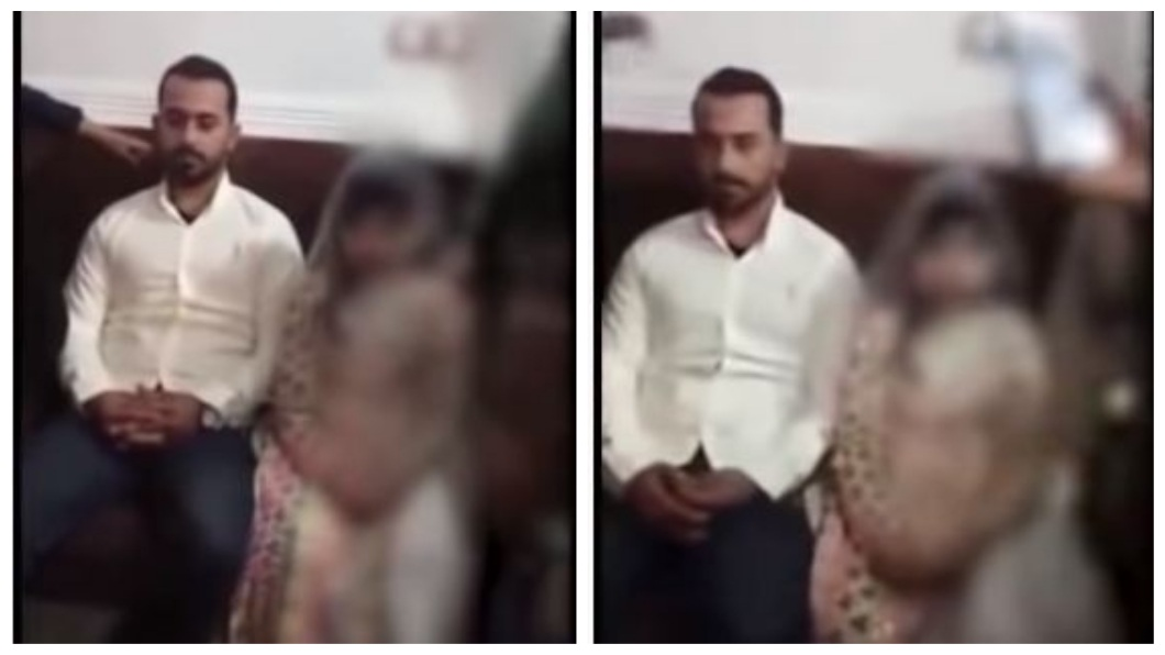 伊朗一名10歲女童被家人逼迫嫁給22歲的表哥,引發各界的抨擊。(圖/翻攝自YouTube) 10歲女被逼嫁22歲表哥無效 家長嗆:會重辦婚禮
