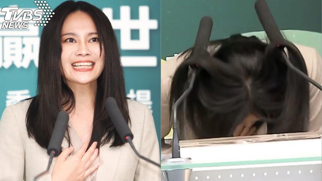 圖/中央社、TVBS 「頭」入選舉一戰成名!賴品妤爆乳辣照出土:氣氣氣氣氣