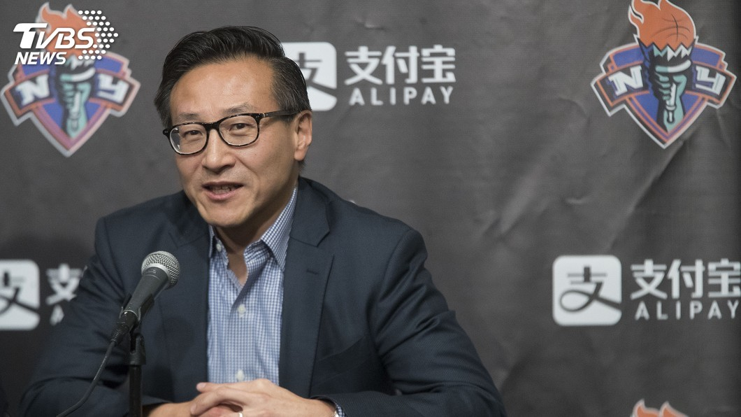 圖/達志影像美聯社 NBA理事會一致同意 蔡崇信成籃網新老闆