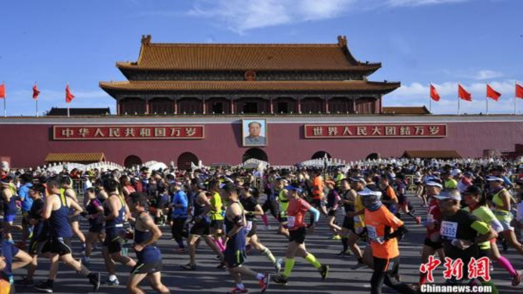 圖/翻攝自 中新網 大陸體育消費「動」起來 2025目標5兆RMB
