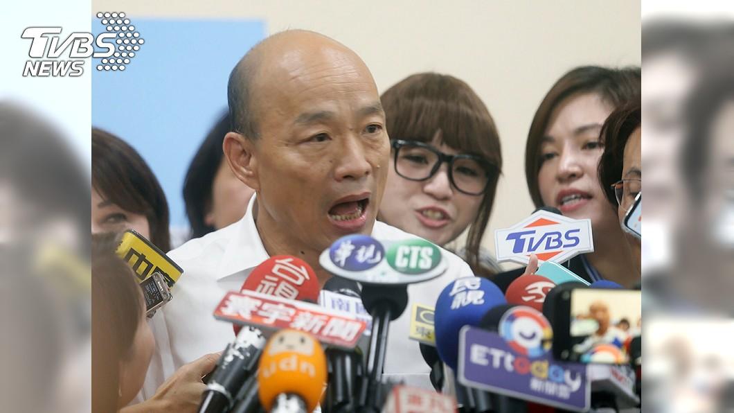 韓國瑜。 圖/TVBS 921大地震20周年 韓國瑜凌晨準點發紀念文