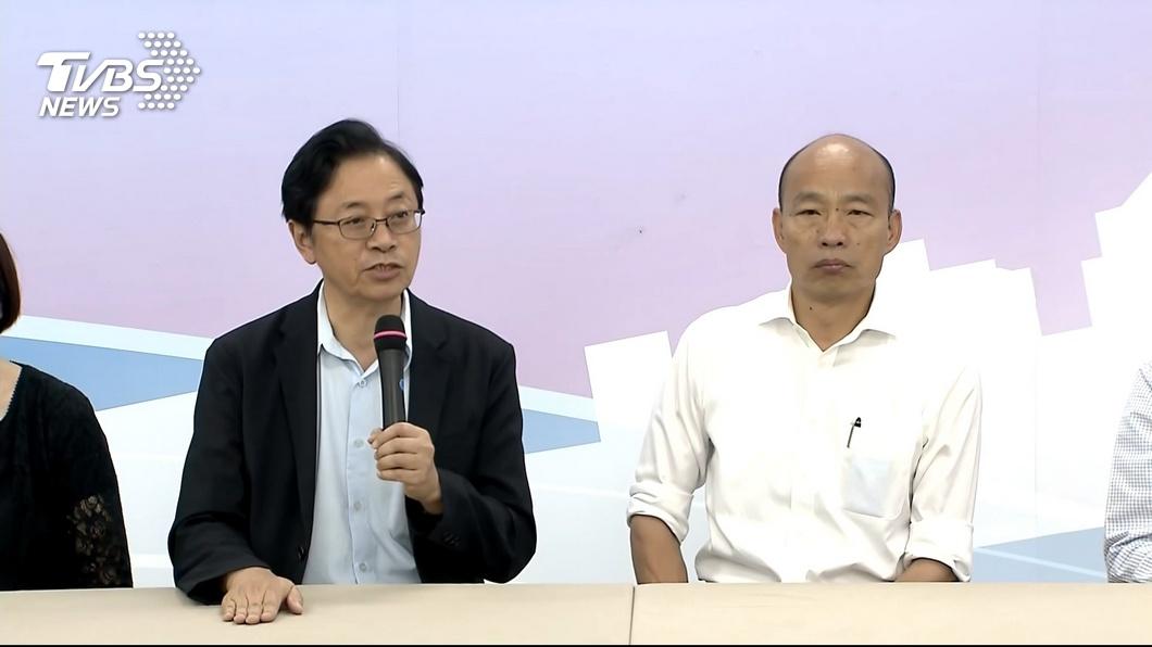 圖/TVBS 直播談國政! 韓國瑜要推全民「長照保險」