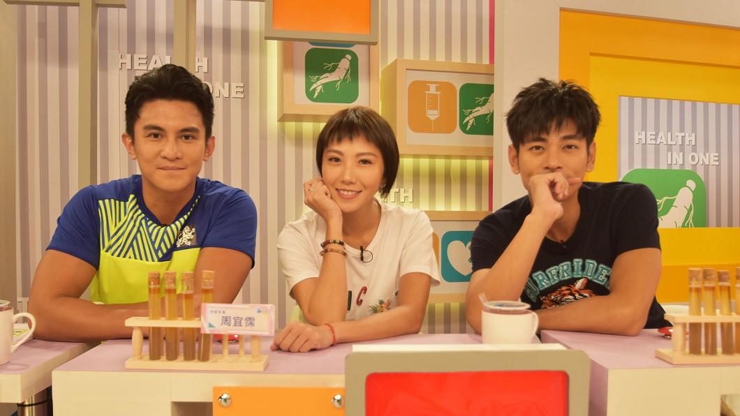 左起Terry(江振愷)、大牙(周宜霈)、楊子儀。圖/緯來綜合台提供
