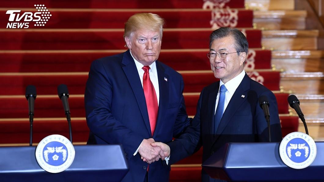 圖/達志影像美聯社 文在寅將在約紐會川普 討論北韓非核化等議題