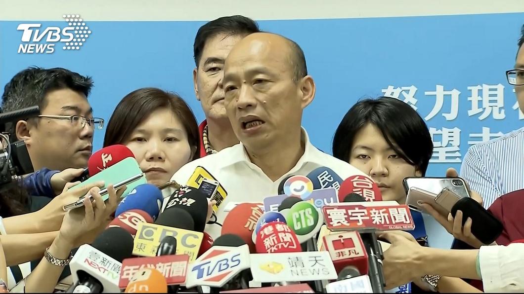 圖/TVBS 沒面子?刑事局長南下坐鎮 韓開鍘所長降職
