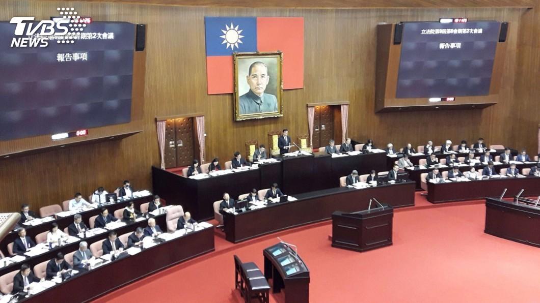 圖/中央社 立院將審中選會人事案 藍委瞄準2人強力質詢
