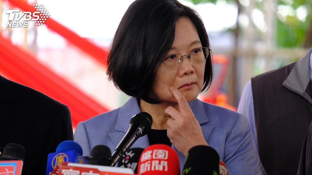 圖/中央社 蔡總統:關注高雄治安非卡韓 盼讓市民安心